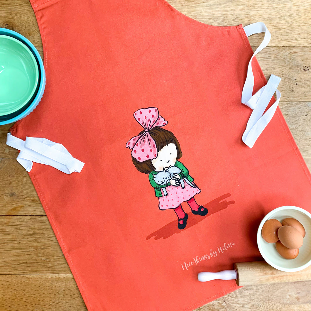 Little Kitten - Adult size apron