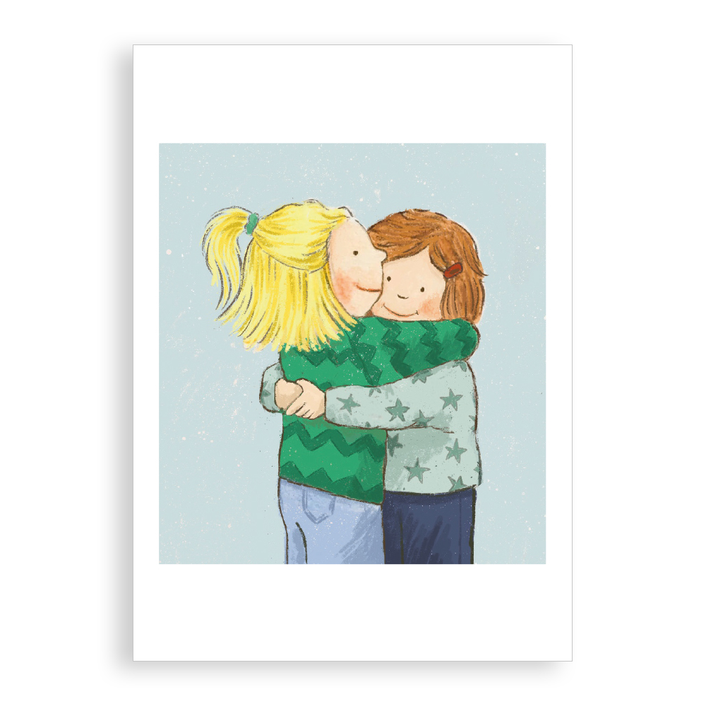 Greetings card - Best Friends