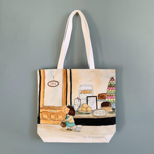 The Bakery - Cotton Tote Bag