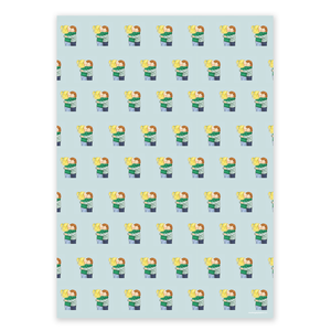 Wrapping Paper - Mixed pack (4 sheets)