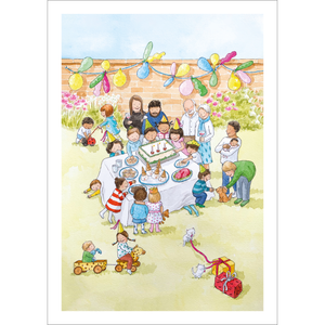 Birthday Party (A4 hand signed print)
