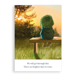 Greetings card - Brighter Days