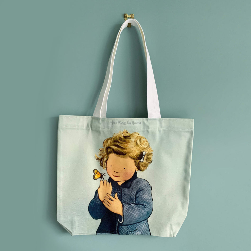 Hello Butterfly - Cotton Tote Bag
