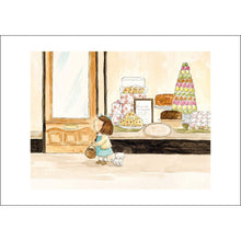 Load image into Gallery viewer, The Cake Shop (A4 hand signed print)