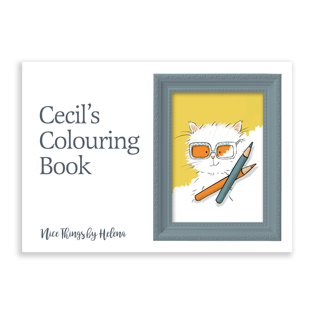 Cecil's Colouring Book