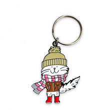 Load image into Gallery viewer, Cecil Enamel Keyring