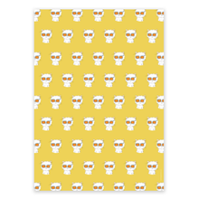 Load image into Gallery viewer, Wrapping Paper - Mixed Cecil pack (4 sheets)
