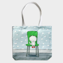 Load image into Gallery viewer, Cecil in Boots - Cotton Tote Bag