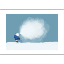 Load image into Gallery viewer, Cold Day (A4 hand signed print)