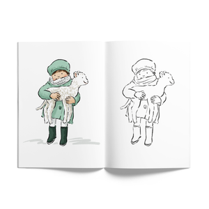 Nice Things by Helena Colouring Book