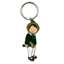 Load image into Gallery viewer, Daisy Enamel Keyring