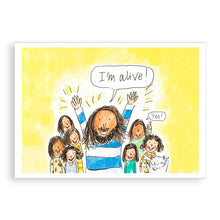 Load image into Gallery viewer, Easter card - Jesus is alive!