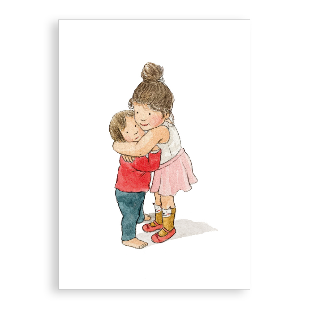 Greetings card - Big Hug
