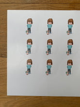 Load image into Gallery viewer, Sheet of 15 stickers - Smart Little Friend
