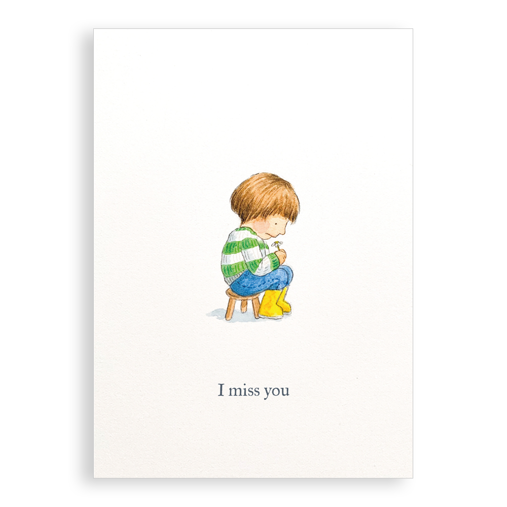 Greetings card - I Miss You