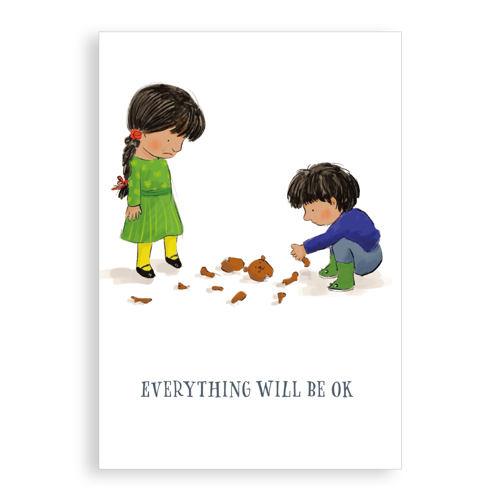 Greetings card - Everything will be OK