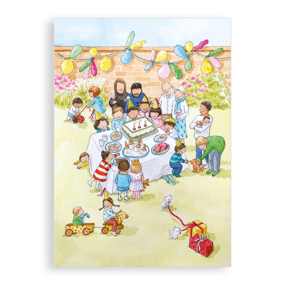 Greetings card - Birthday Party