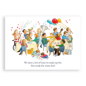 Greetings card - Ready for Some Fun! (Restaurant)
