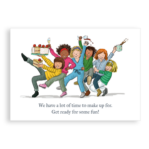 Greetings card - Ready for Some Fun!