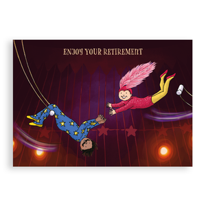 Greetings card - Retirement