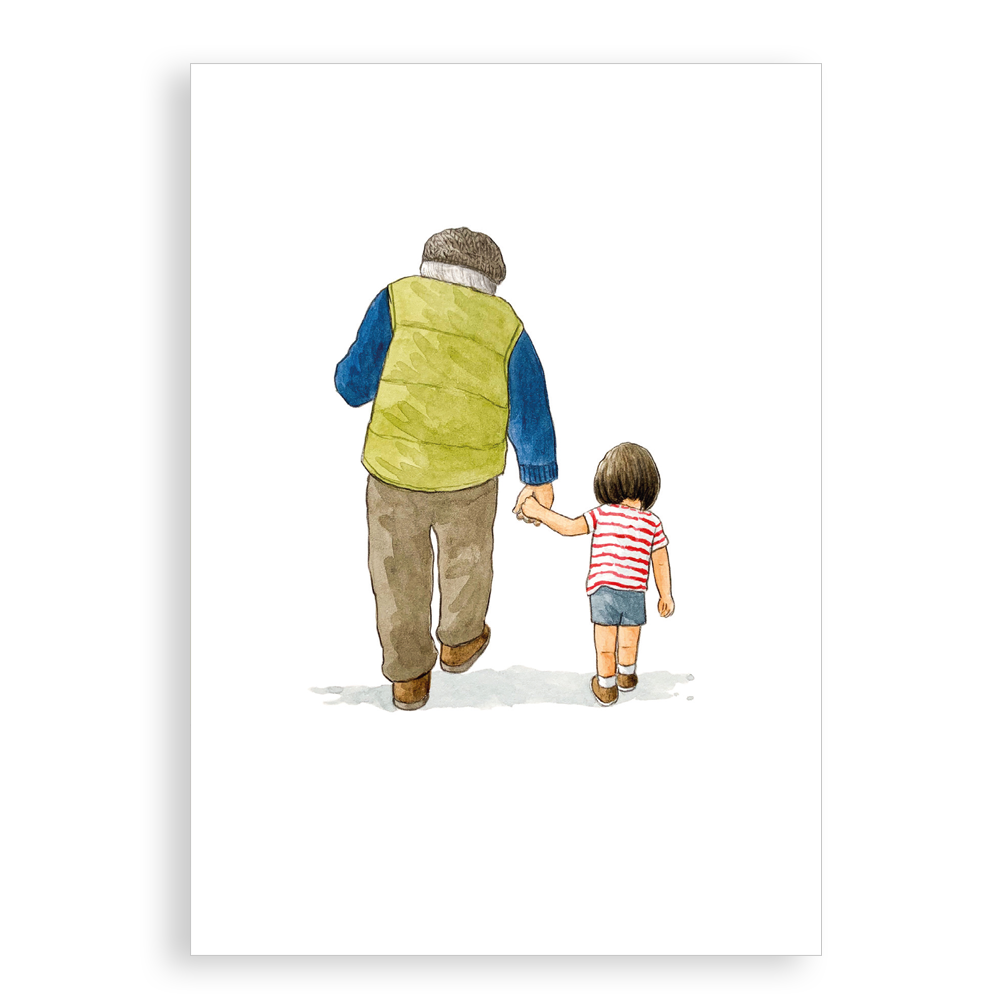 Greetings card - Us two