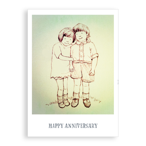 Greetings card - Happy Anniversary