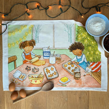 Load image into Gallery viewer, Christmas Baking - Tea towel