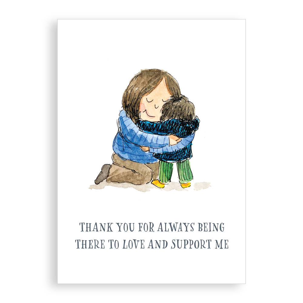 Greetings card - For someone you love