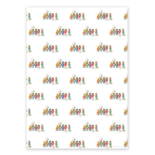 Load image into Gallery viewer, Wrapping Paper - Mixed Christmas (4 sheets)