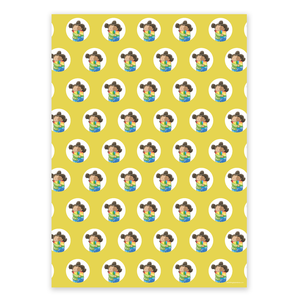 Wrapping Paper - My Dearest Friend (4 sheets)