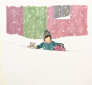 A Snowy Day Out (artist quality print on Photo Rag paper)