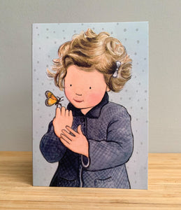 Greetings card - Hello Butterfly
