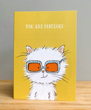 Load image into Gallery viewer, Greetings card - You are fabulous