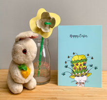 Load image into Gallery viewer, Easter card - Cecil's Easter bonnet