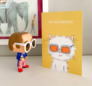 Greetings card - You are fabulous