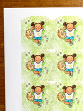 Load image into Gallery viewer, Sheet of 15 stickers - Sunny Days