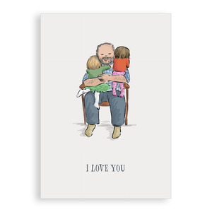 Greetings card - I Love You