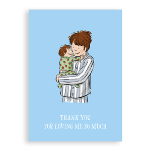 Greetings card - Loved