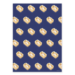 Wrapping Paper, Baby Jesus - Christmas (4 sheets)