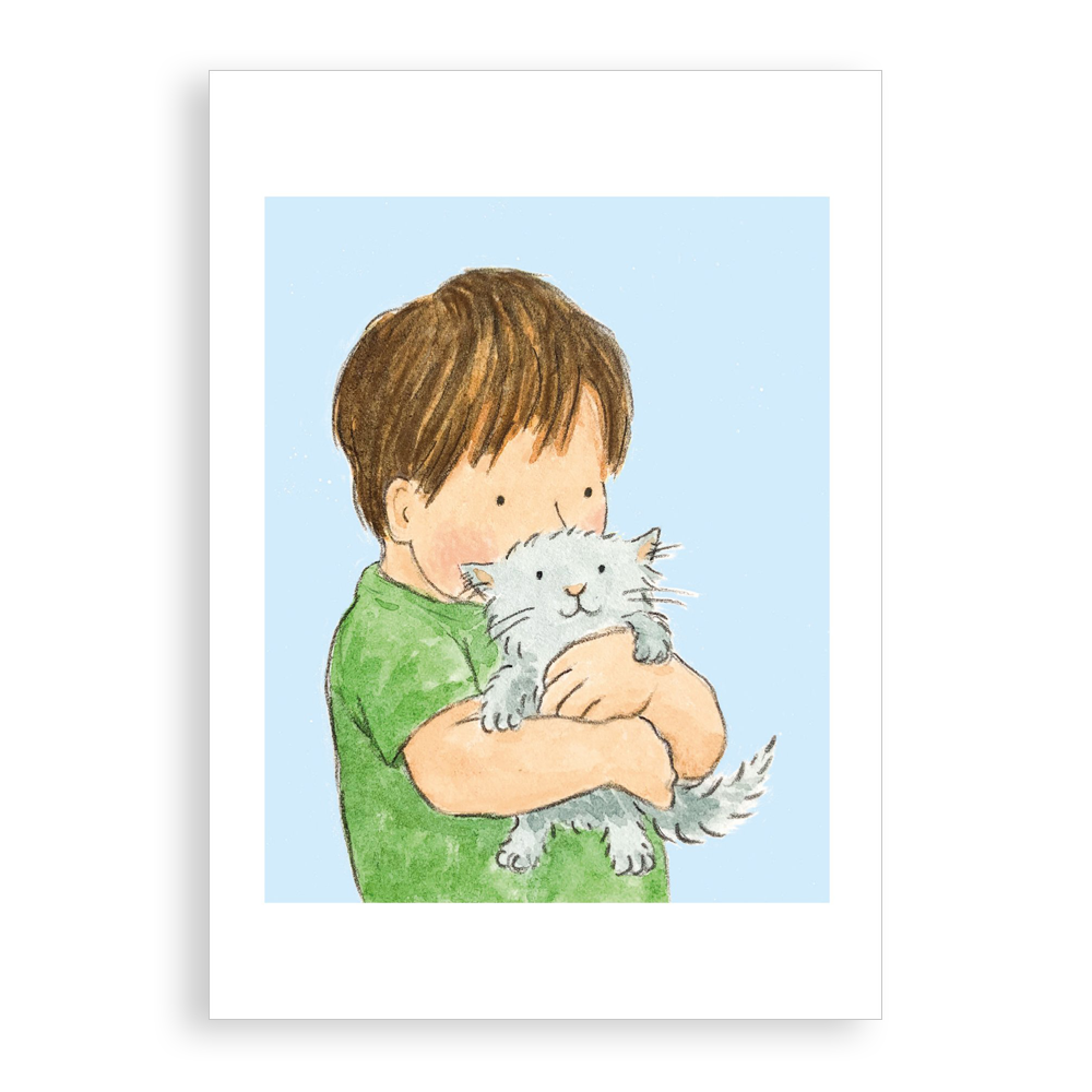 Greetings card - Small Friend