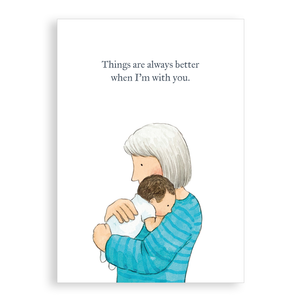 Greetings card - Better with you
