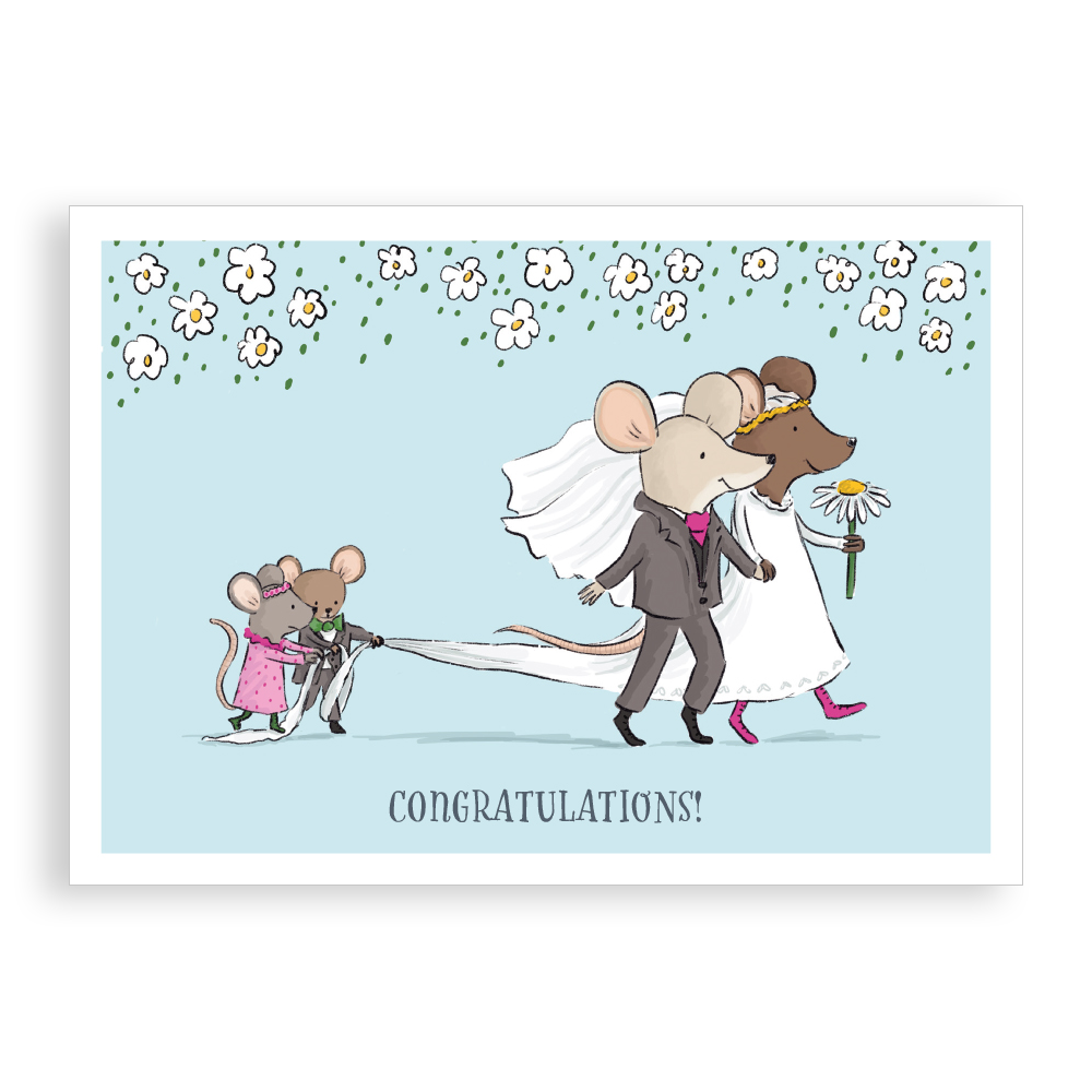Greetings card - Wedding Day