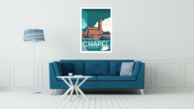 Load image into Gallery viewer, The Chapel, Bridgewater Viaduct, Manchester Vintage Travel Poster Print