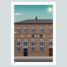 Load image into Gallery viewer, The Crown & Kettle Manchester Pub Poster Print