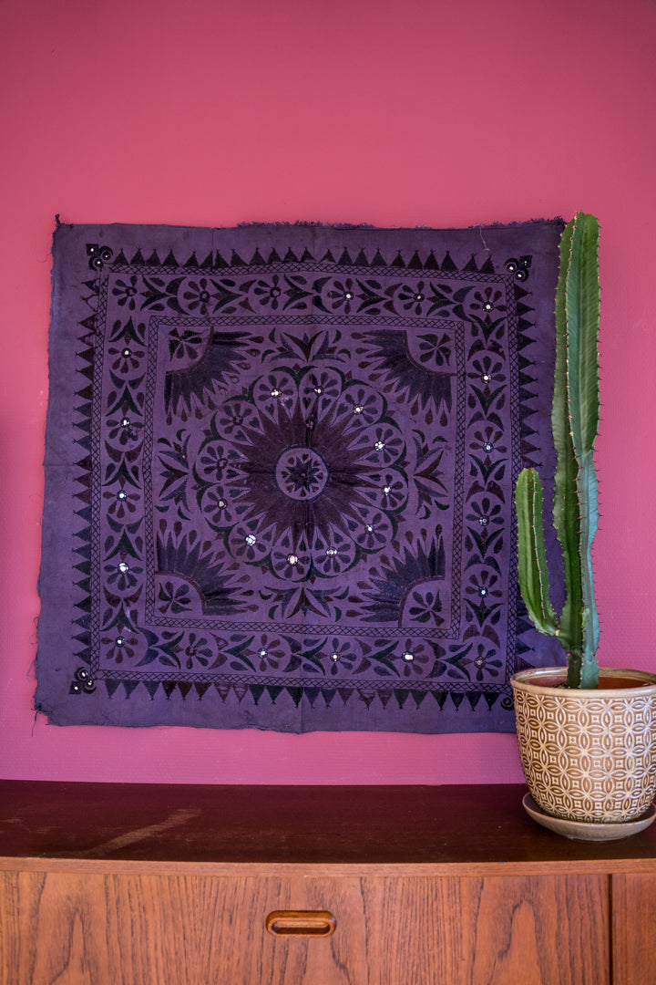 Purple | Vintage Wall Tapestry