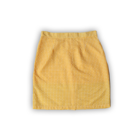 LACOAJ DESIGN YELLOW SKIRT