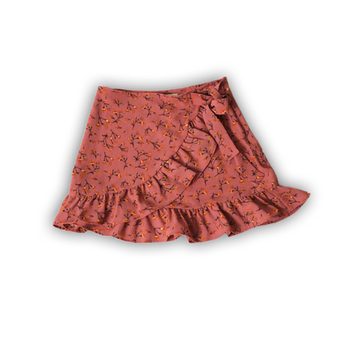 LACOAJ DESIGN SKIRT WITH FLOWER