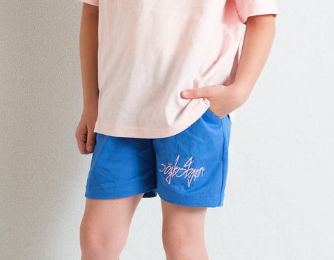 BLUE SHORTS FOR GIRL