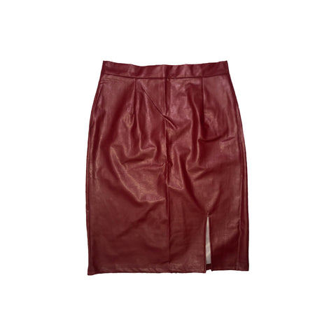 BORDEAUX HIGH WAISTED SKIRT (LIMITED EDITION)