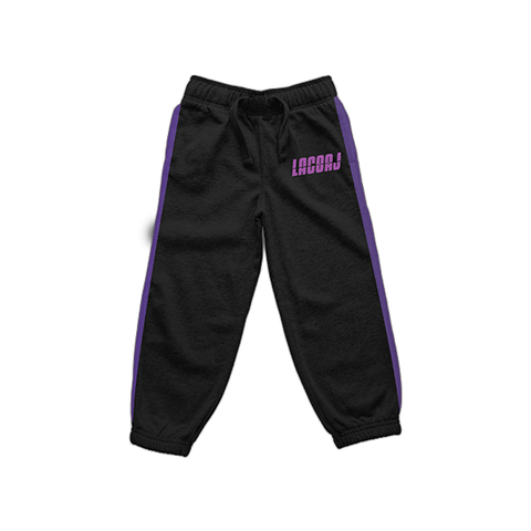 SPORTSWEAR PANTS BLUE & PURPLE - LACOAJ